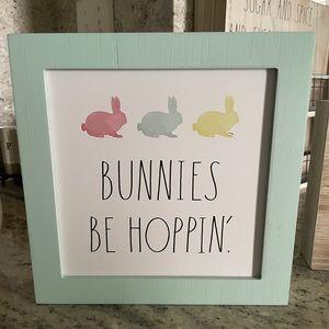 Rae Dunn Bunnies Sign